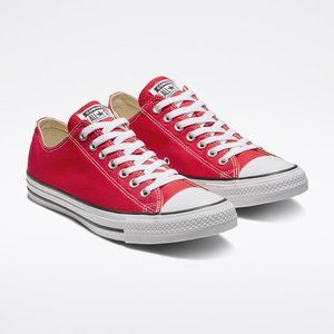BN Red Converse Chuck Taylor All Star Lo Sneaker